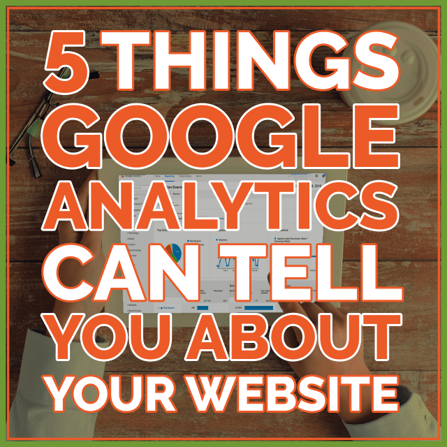 Google Analytics for Website