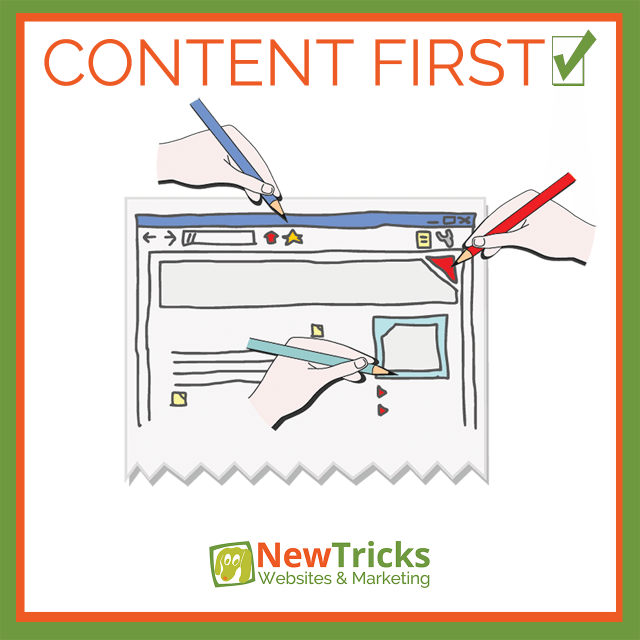 Website Content First