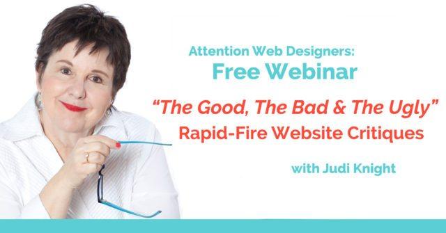 Website Home Page Critiques