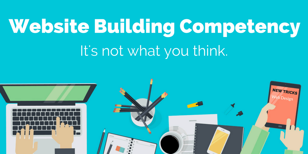 building competent websites
